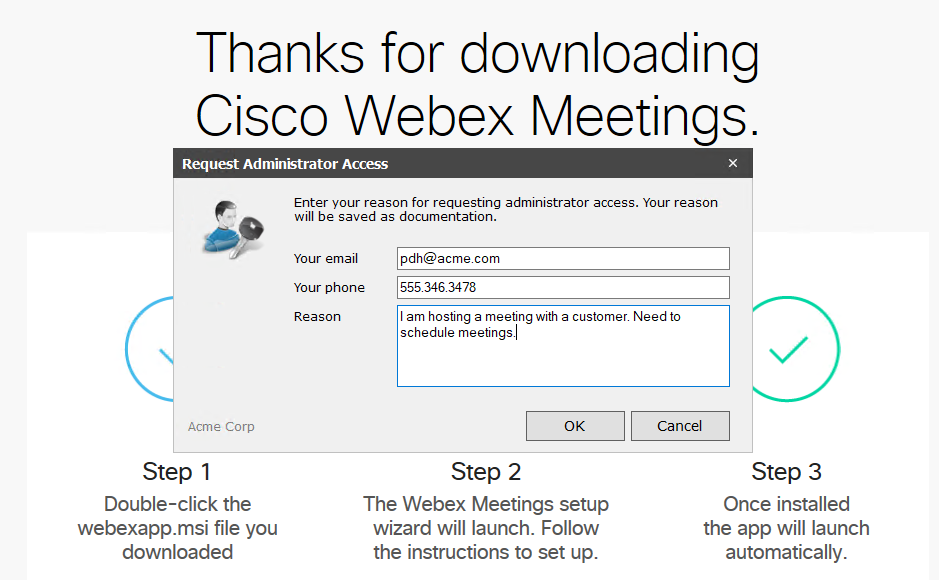 WebEx Meeting Plugin
