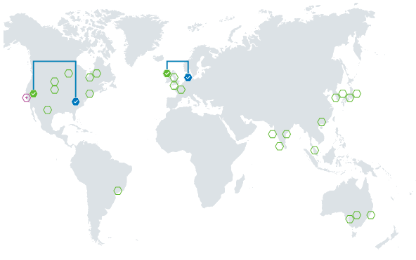 Azure geo replications