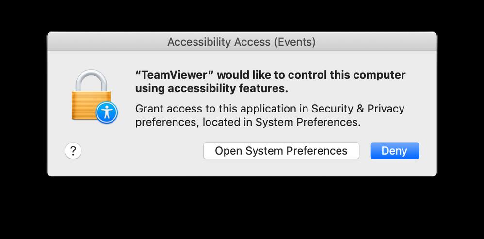TeamViewer on Mac